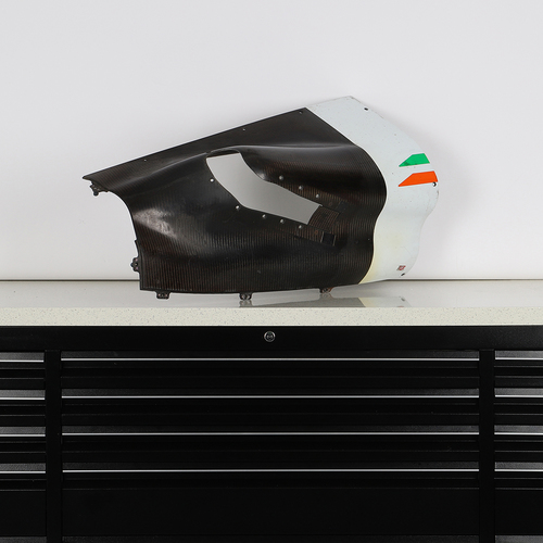 Photo of Force India F1 Team 2010 Race Used Sidepod Outlet