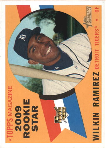 Photo of 2009 Topps Heritage #663 Wilkin Ramirez RC