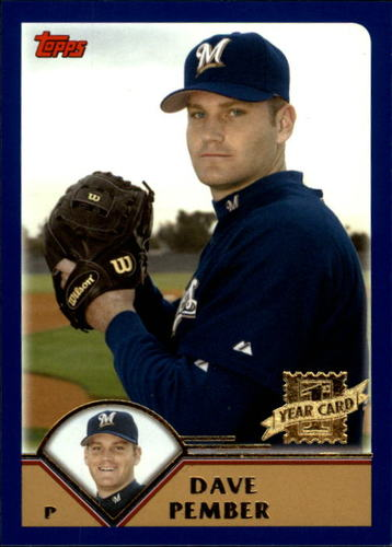 Photo of 2003 Topps Traded #T249 Dave Pember FY RC