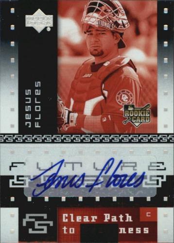 Photo of 2007 Upper Deck Future Stars #135 Jesus Flores AU RC