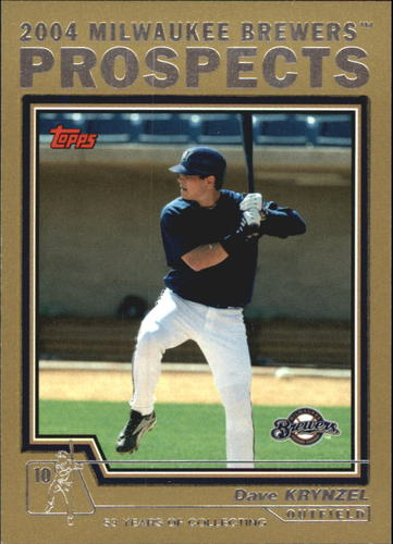 Photo of 2004 Topps Traded Gold #T103 Dave Krynzel PROS