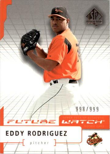 Photo of 2004 SP Authentic #100 Eddy Rodriguez FW RC