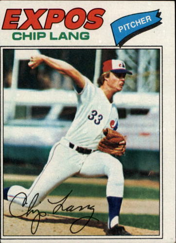 Photo of 1977 Topps #132 Chip Lang RC