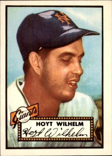 Photo of 1983 Topps 1952 Reprint #392 Hoyt Wilhelm