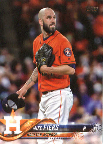 Photo of 2018 Topps #184 Mike Fiers