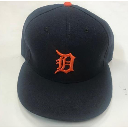 Photo of 2016 Team-Issued Detroit Tiger #40 Road Cap