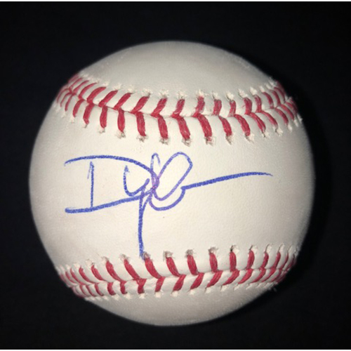 Photo of Dylan Cease Autographed Baseball