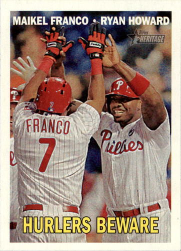 Photo of 2016 Topps Heritage #309 Maikel Franco/Ryan Howard