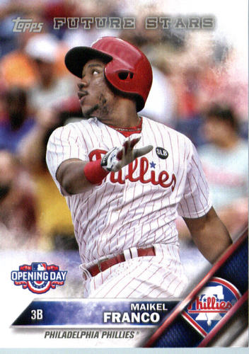Photo of 2016 Topps Opening Day #OD81 Maikel Franco