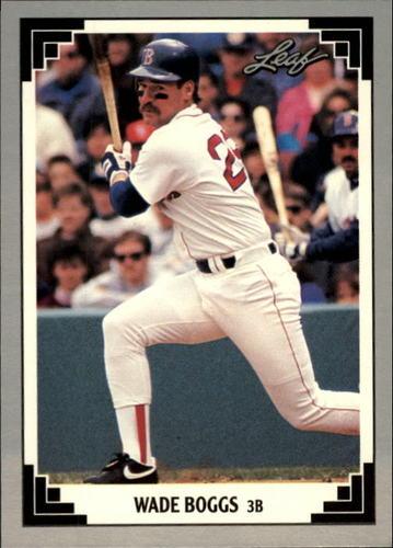 Photo of 1991 Leaf #273 Wade Boggs
