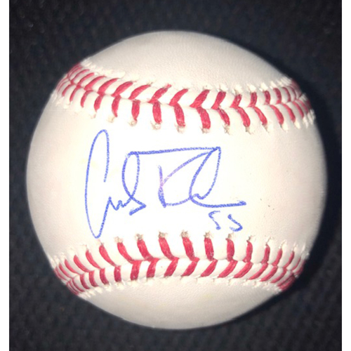 Photo of Carlos Rodon Autographed Baseball