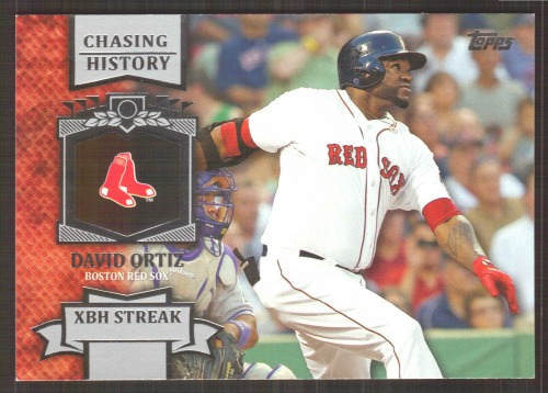Photo of 2013 Topps Chasing History #CH138 David Ortiz
