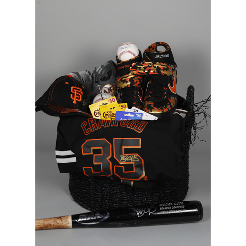 "Photo of Giants Wives Auction: Brandon Crawford ""Favorite Things"" Basket"