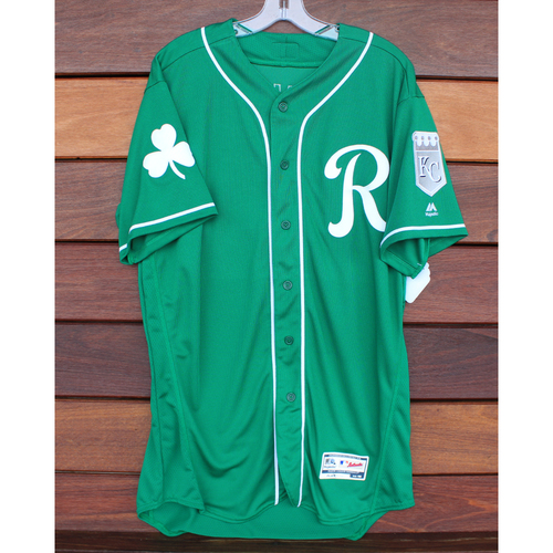 Team-Issued St. Patrick's Day Jersey: Zach Lovvorn (Size - 46)