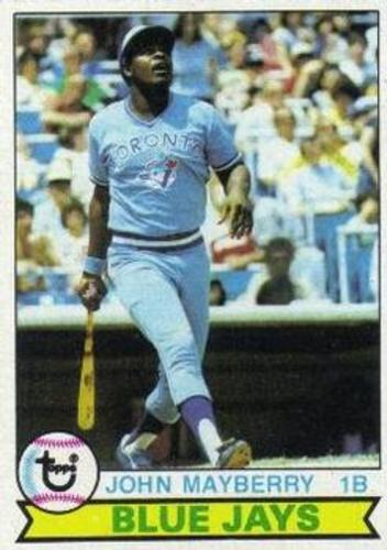 Photo of 1979 Topps #380 John Mayberry