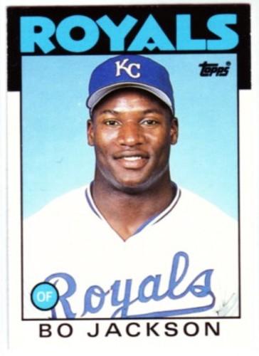 Photo of 1986 Topps Traded #50T Bo Jackson XRC