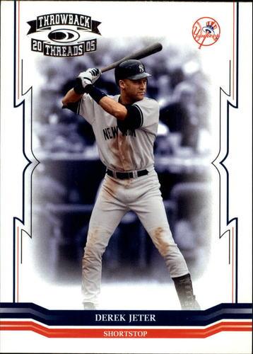Photo of 2005 Throwback Threads #2 Derek Jeter