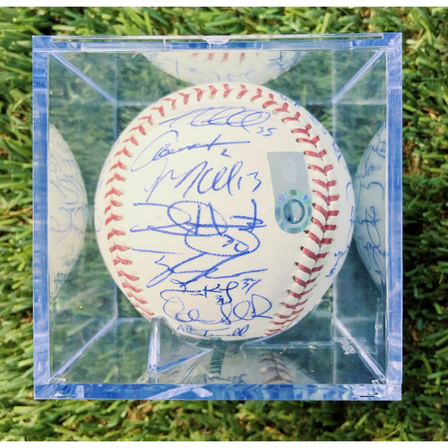 Photo of Team Signed Baseball featuring Paul Goldschmidt, AJ Pollock, Patrick Corbin, Didi Gregorious, and more