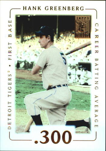 Photo of 2002 Topps Tribute #26 Hank Greenberg