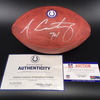 NFL - Colts Anthony Castonzo Signed Authentic Football W/ Colts Logo