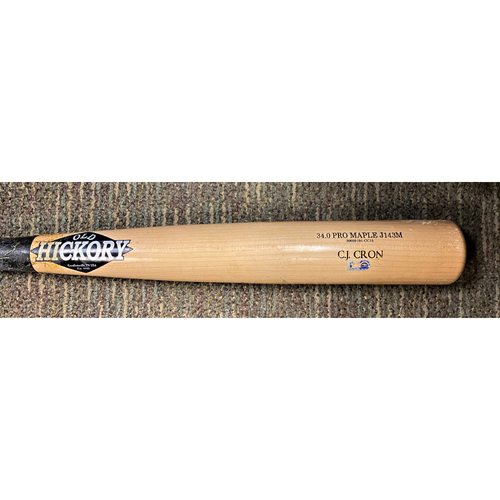 Photo of C.J Cron Detroit Tigers Team Issued Cracked Bat (MLB AUTHENTICATED)