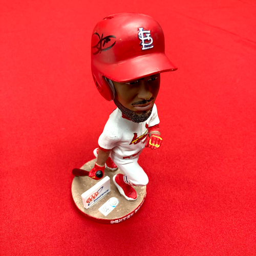 Photo of Dexter Fowler Autographed Bobblehead