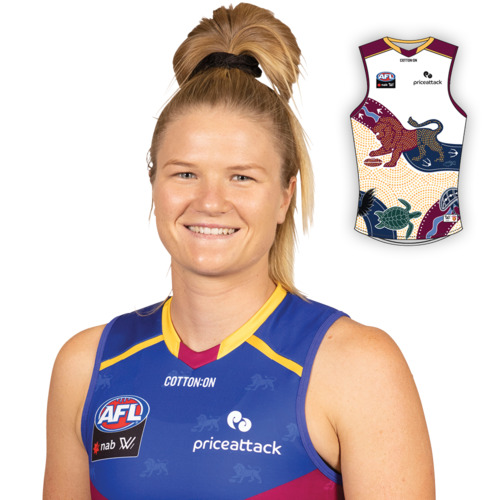 Photo of 2021 AFLW Indigenous Guernsey - Beth Pinchin
