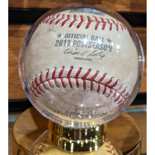 Photo of 2016 ALDS Game 3 Red Sox vs. Indians October 10, 2016 Game Used Baseball - Pomeranz to Chisenhall