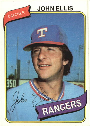 Photo of 1980 Topps #283 John Ellis