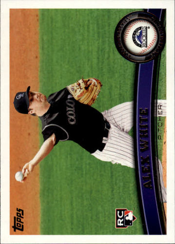 Photo of 2011 Topps Update #US142 Alex White RC