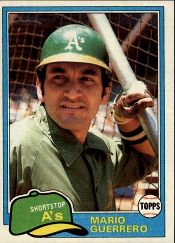 Photo of 1981 Topps #547 Mario Guerrero