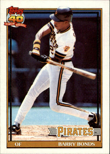 Photo of 1991 Topps #570 Barry Bonds