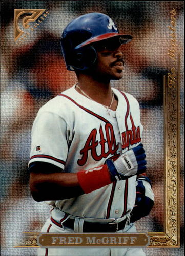 Photo of 1996 Topps Gallery #172 Fred McGriff