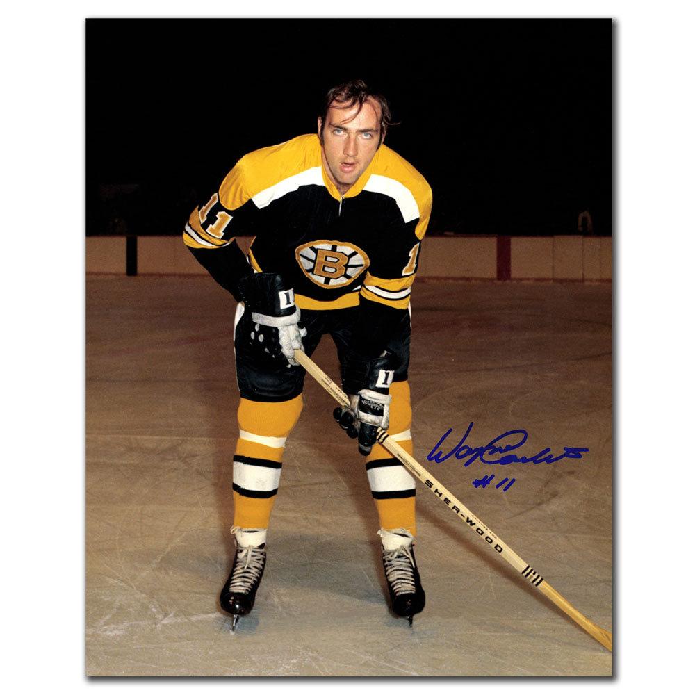 Wayne Carleton Boston Bruins Autographed 8x10