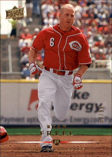 Photo of 2008 Upper Deck Gold #468 Ryan Freel /99