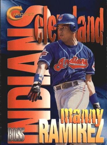 Photo of 1997 Circa Boss #14 Manny Ramirez