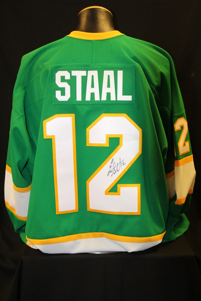 newest 42292 31610 MN Wild #12 Eric Staal Signed, Player Worn Northstars Jersey ...