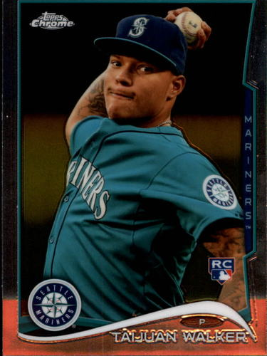 Photo of 2014 Topps Chrome #22 Taijuan Walker Rookie Card
