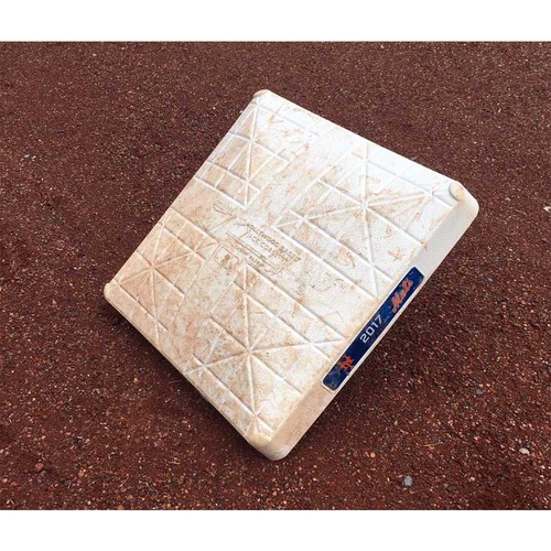 New York Mets - 2017 Game Used Base