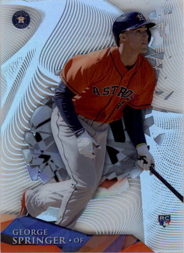 Photo of 2014 Topps High Tek Wave #HTGS George Springer Rookie Card
