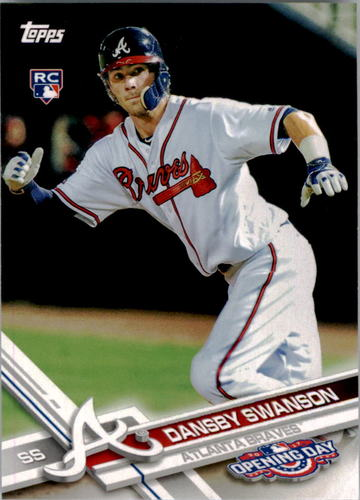 Photo of 2017 Topps Opening Day #195 Dansby Swanson Rookie Card
