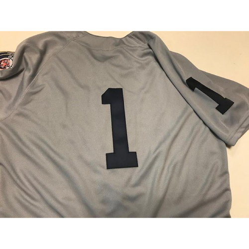 Photo of Team-Issued 1968 World Series 50th Anniversary Jersey: Jose Iglesias