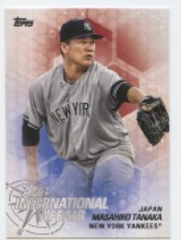 2018 Topps Update An International Affair #IA27 Masahiro Tanaka