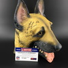 NFL - Chris Long signed Dog Mask with SB 52 Champs inscription