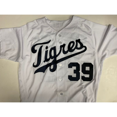 Photo of Game-Used Fiesta Tigres Jersey: Ramon Santiago
