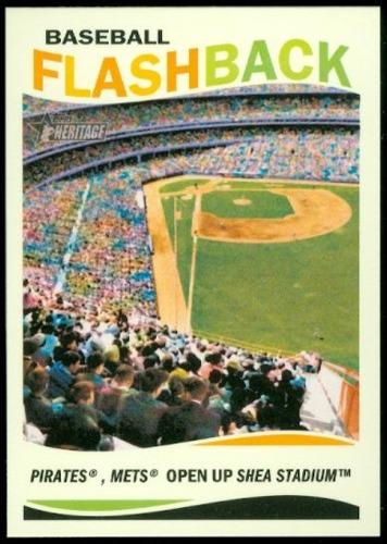 Photo of 2013 Topps Heritage Baseball Flashbacks #SS Shea Stadium
