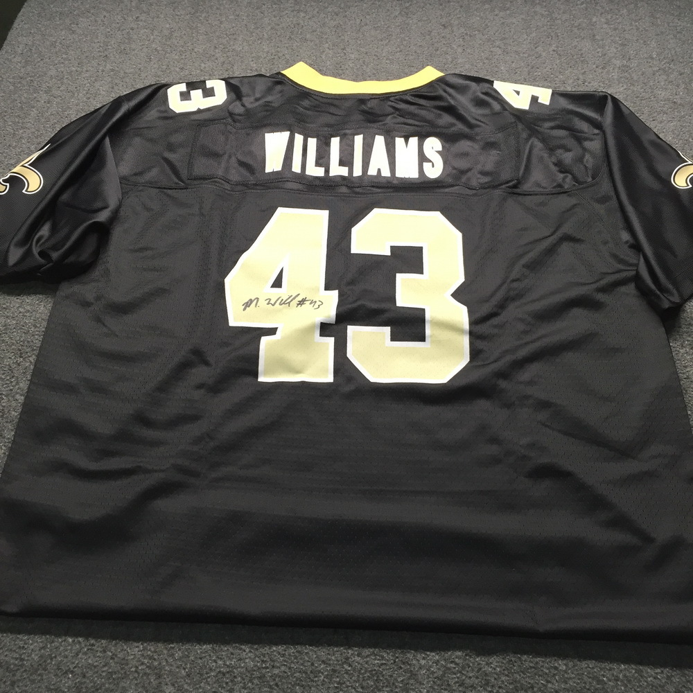 Crucial Catch - Saints Marcus Williams Signed Replica Jersey Size XL