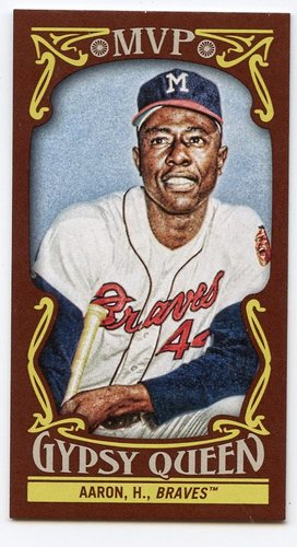 Photo of 2016 Topps Gypsy Queen MVP Minis #MVPMHA Hank Aaron