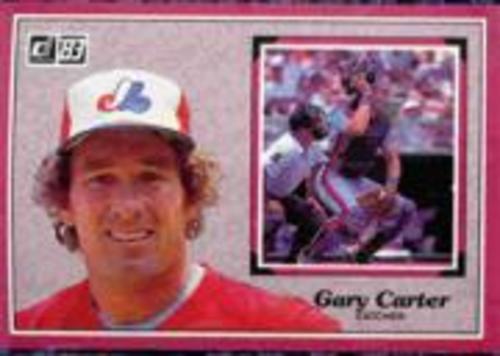 Photo of 1983 Donruss Action All-Stars #58 Gary Carter