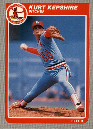 Photo of 1985 Fleer #230 Kurt Kepshire